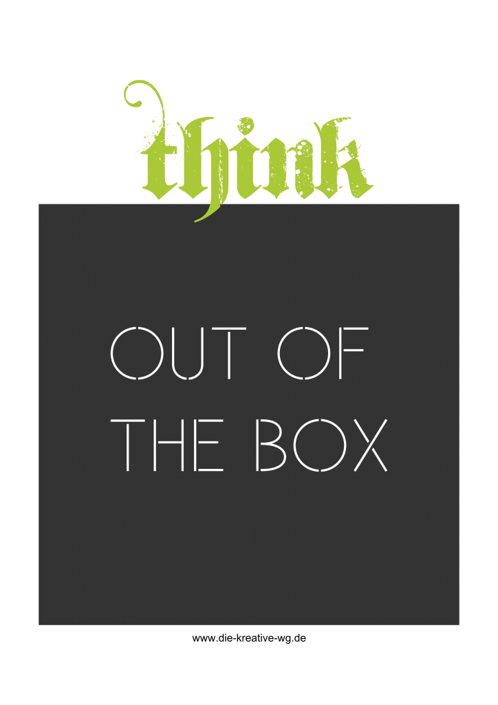 Think out of the box DKWG