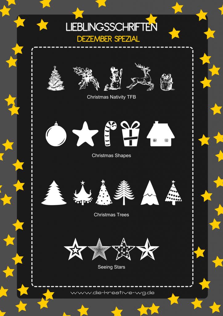 Lieblingsschriften Weihnachten