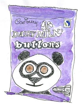 Schokolinsen Cadbury
